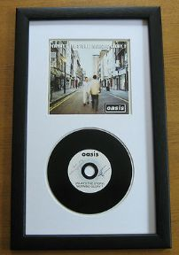 OASIS - (WHAT'S THE STORY) MORNING GLORY ? CD Disc presentation